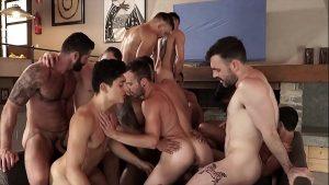 סרטי סקס גייז אורגיות